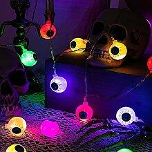 iKyce Guirlande lumineuse à LED pour Halloween -