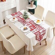 Ilovemilan - Elk Chemin de table de Noël, chemin