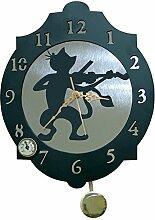 IMEX EL ZORRO Le Renard 11327 Horloge Chat