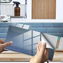 Imitation Mur Carrelage Cristal Film Autocollant