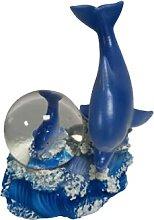 impexit Boule Neige Dauphin avec Figurine Dauphin