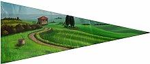 Imprimé Polyester Drapeau Pays Paysage Toscane