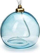 In Flore, Tara Lampe à huile Bleu 10 cm
