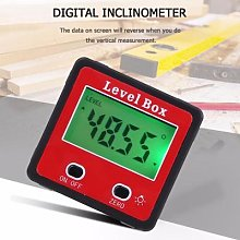 Inclinomètre numérique de précision rouge à 2