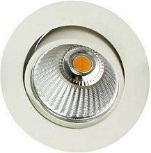 Indigo - Spot LED Rond 6W 3000K Blanc (AL101430)
