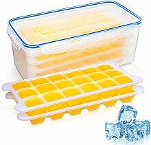 iNeego 4 Paquets Bac à Glaçons Réfrigérateur