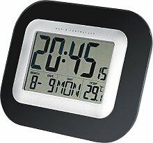 infactory Horloge de Table/Murale Radio-pilotée