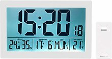 infactory Horloge Radio-pilotée XL avec