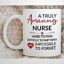 Infirmière tasse pour infirmière retraite cadeau