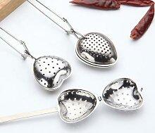 Infuseur à thé créatif en acier inoxydable,