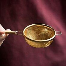 Infuseur à thé en cuivre fait à la main pour le