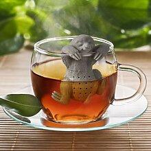 Infuseur à thé en Silicone, 1 pièce, créatif,