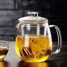 Infuseur à thé en verre, service à thé Kung Fu