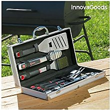 InnovaGoods Mallette d'ustensiles à Barbecue,