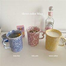 Ins – tasses colorées en céramique, tasse à