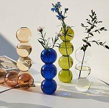 INS – Vase à bulles en verre, boule de cristal,