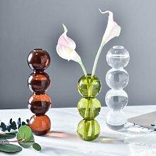 INS – Vase à bulles en verre, boule