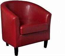 Inside75 - Cabriolet design cosy NEW YORK rouge -