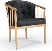 Inside75 - Fauteuil design scandinave ANNA