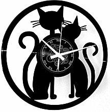 Instant Karma Clocks Vinyle Horloge Murale Couple