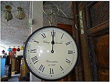 int. d'ailleurs - Horloge de Gare Double Face