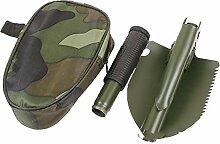 INTELZY Pelle Pliante Portable Outil de Camping en