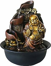 Intérieur Fontaine Bouddha Zen Tabletop bureau