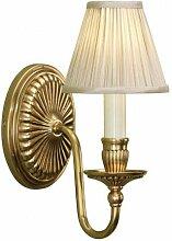 Interiors 1900 - Applique Fitzroy laiton, bougie