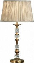 Interiors 1900 - Lampe Polina, laiton antique et