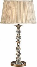 Interiors 1900 - Lampe Polina, nickel et cristal,