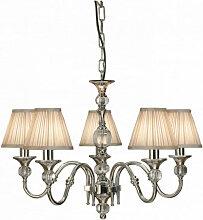 Interiors 1900 - Suspension 5 ampoules Polina,