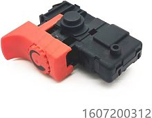 Interrupteur pour BOSCH GSB16RE 1607200312 outil
