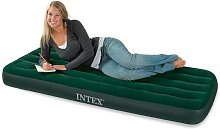 Intex - Matelas gonflable Airbed 1 place Fiber