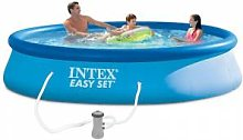 Intex Piscine autoportée Intex Easy Set 3,96 x
