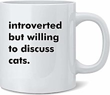 Introverti mais disposé à discuter de chats