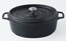 INVICTA Cocotte ovale - Ø 27 cm - Noir - Tous