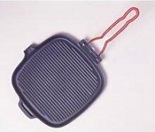 Invicta - grill carre en fonte 25 fondeur
