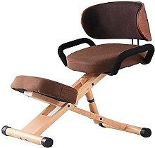 IOUYRRN Chaise de Bureau Chaise de Levage en Bois