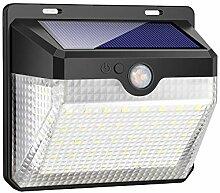 iPosible Lampe Solaire Extérieur, 60 LED