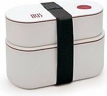 IRIS Duo Boîtes hermétiques, Plastique et
