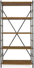 Ironwood - Etagère industrielle métal et bois