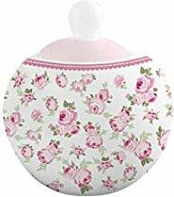 ISABELLE ROSE IRPOR106 Sucrier en porcelaine