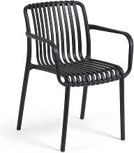 Isabellini - 4 chaises de jardin au design
