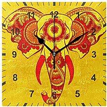 ISAOA Horloge murale silencieuse sans tic-tac,