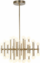 Italux - Suspension moderne Giovanna Bronze, abat