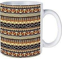 IUBBKI Tasses à café et à thé avec motif