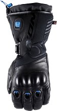 Ixon IT-Aso Evo, gants chauffants - Noir/Bleu - 3XL