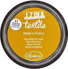 IZINK Encreur textile, jaune