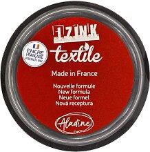 IZINK Encreur textile, rouge