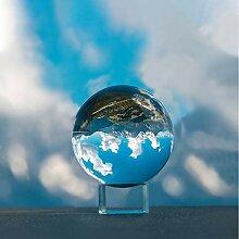 IZSUZEE K9 Boule de Cristal 60mm avec Embase de